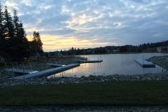 1000 Islands Docks Ltd. - Eastern Ontario - Large Commercial Floating Modular Dock Installation Image at an Ontario Park