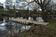 1000 Islands Docks Ltd. - Eastern Ontario - Residetial Floating Modular Dock Installation Image